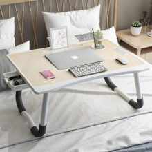 Folding Laptop Table With Drawer