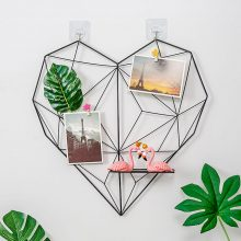 Heart Shaped Wall Hanging Grid