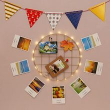 Round Shaped Wall Hanging Grid
